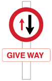 give way to traffic